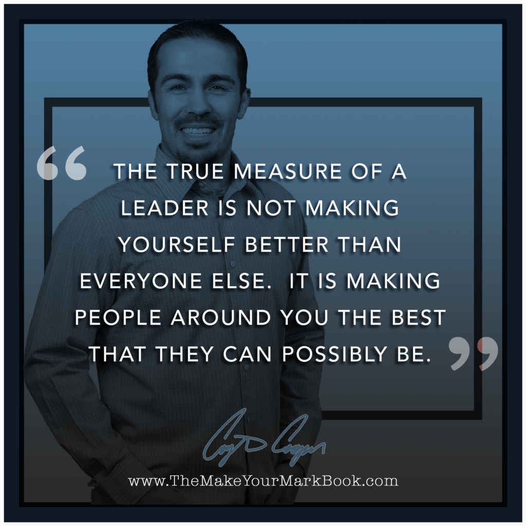 True Measure of a Leader