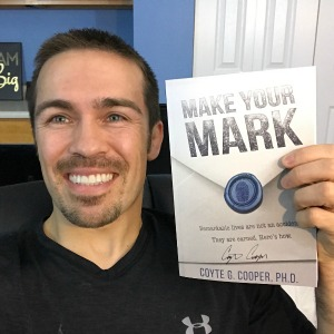 Author of Make Your Mark